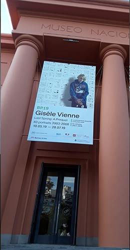 Ingreso al Museo Nacional de Bellas Artes