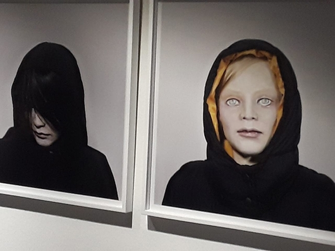 """""""40 portraits 2003-2008"""" de Gisèle Vienne"""