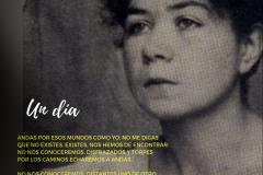 """Poesía """"Un día"""" de Alfonsina Storni"""