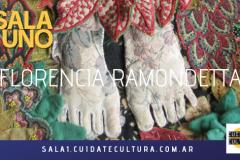 Expone FLORENCIA RAMONDETTA