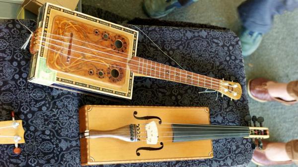 instrumentos musicales reciclaje