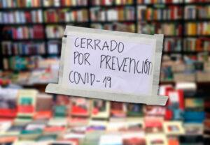 librerías en cuarentena